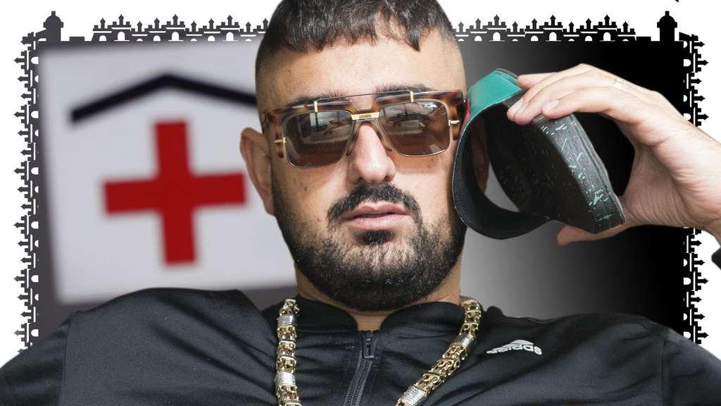 Rapper Schuss Ins Bein